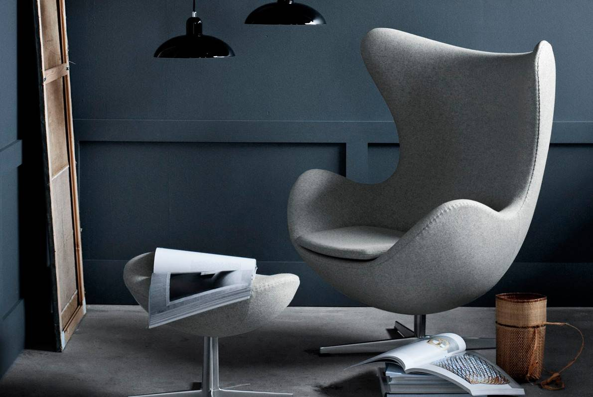 arne jacobsen vintage egg chair