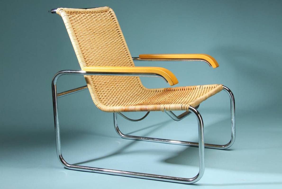 Marcel Breuer cantilever chair