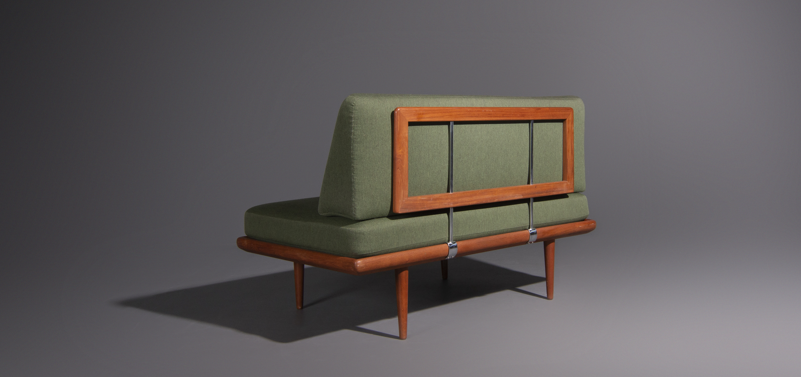 2 Zits Design Bank.Peter Hvidt 2 Seater Sofa By France And Son In The 60s Mariekke