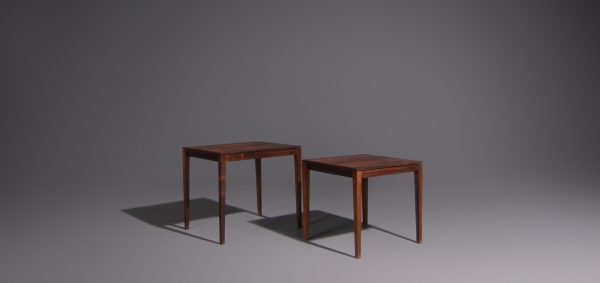 Rosenthal Side Tables Rosewood