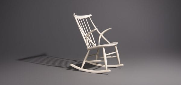 Illum Wikkelsø rocking chair